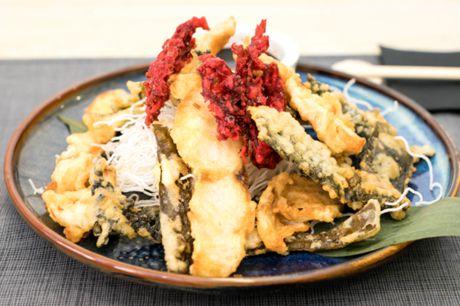 la marina en tempura
