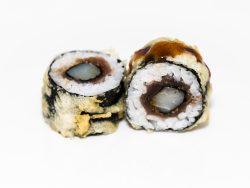 Sushi de atún y pescado blanco picante